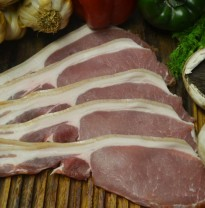 Dry cured back bacon