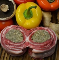 Stuffed breast of Lamb